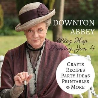 Downton Abbey Blog Hop High Tea