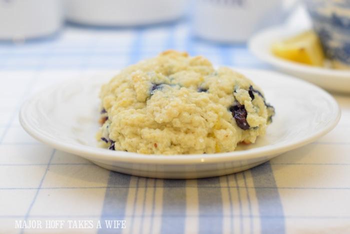 Knock off Starbucks blueberry scone copy cat recipe
