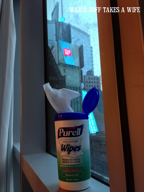 Purell in Times Square