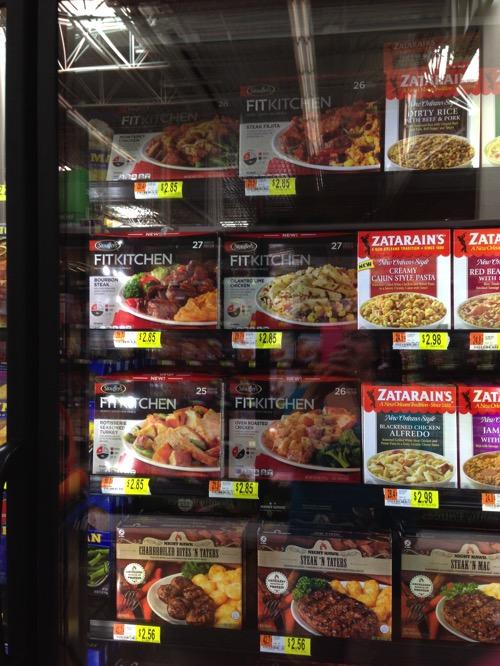 Stouffer's Fit Kitchen meals at Walmart