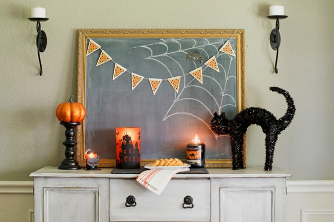 Easy Decorating Ideas For Halloween - Major Hoff Takes A ...