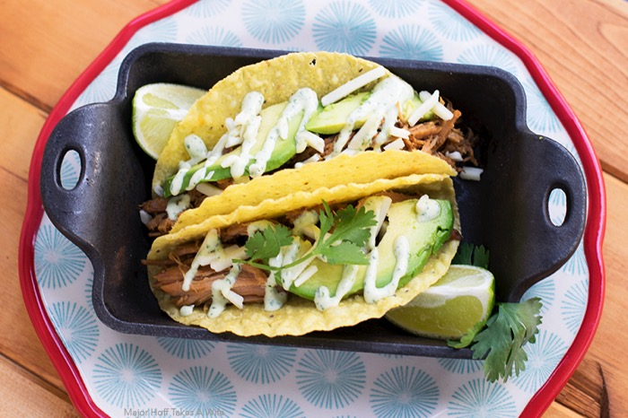 Pulled pork tacos recipe