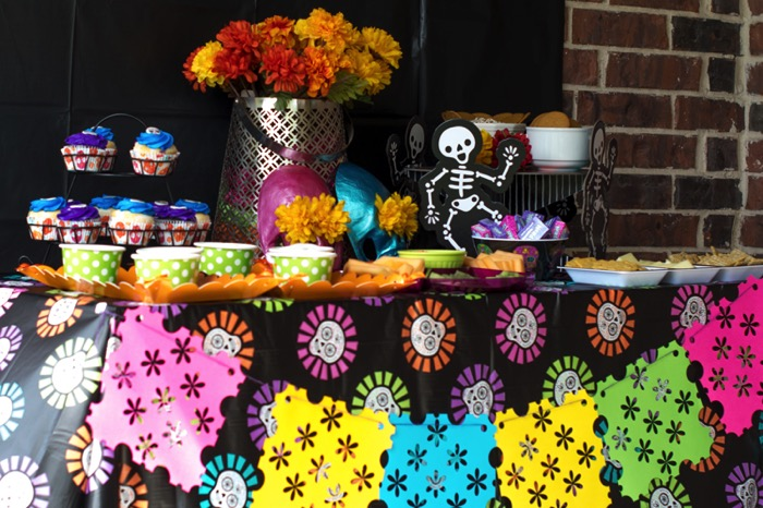 Day of the Dead buffet