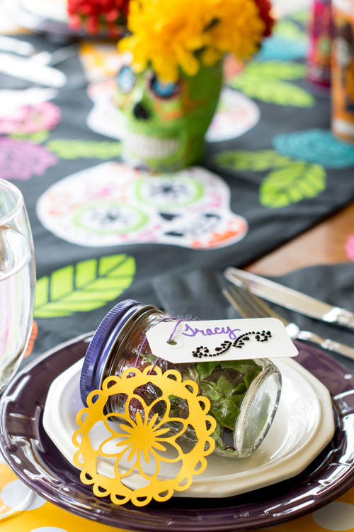 Day of the Dead nametag placeholder