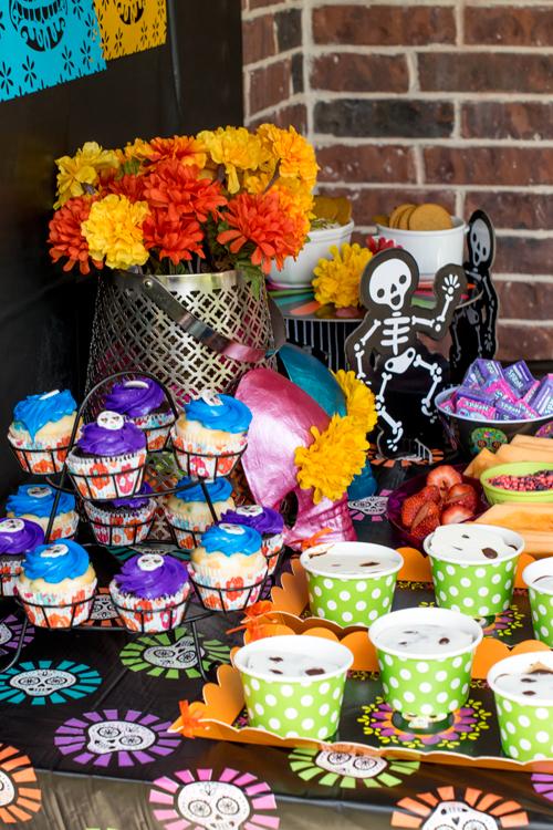Desserts for Dia de los Muertos