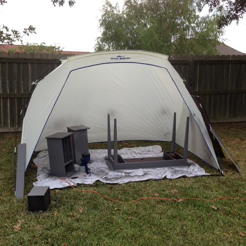 Homeright spray tent