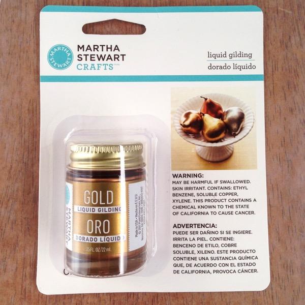 Martha Stewart Crafts Liquid Gilding