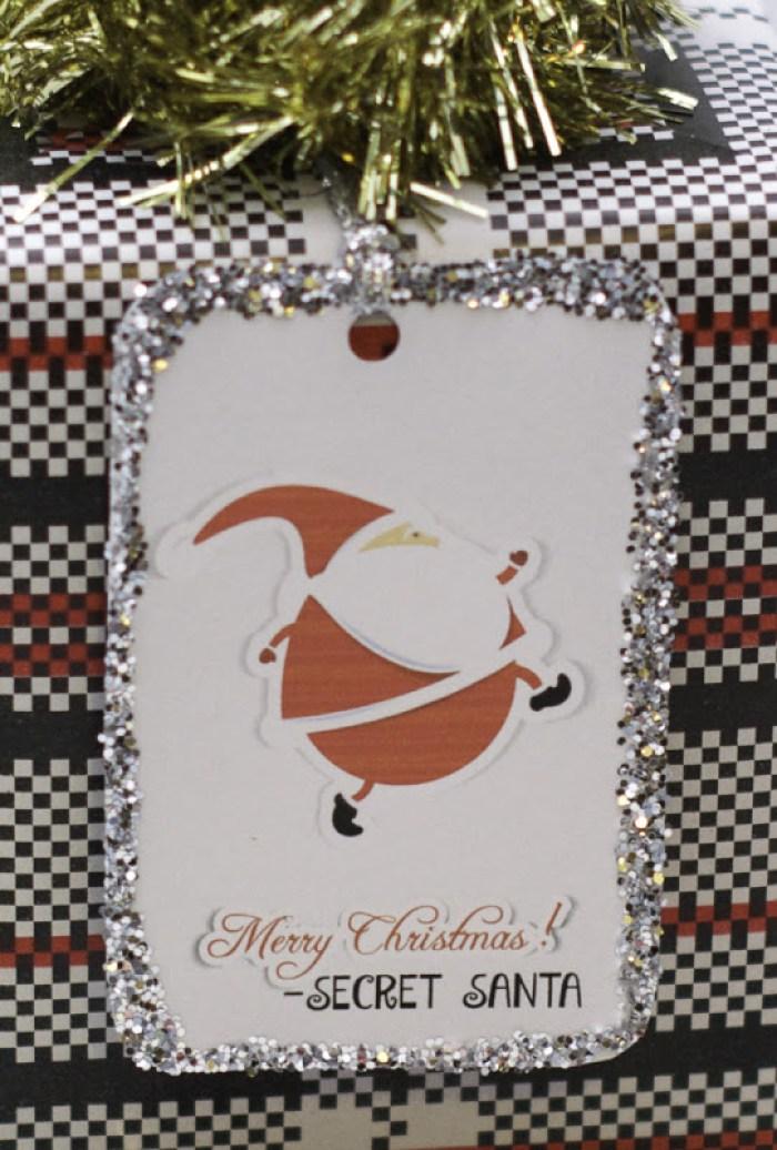 Free Secret Santa Tag