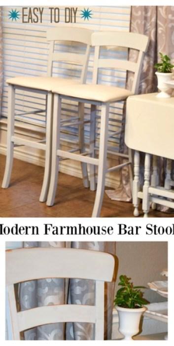 Modern Farm House Barstools