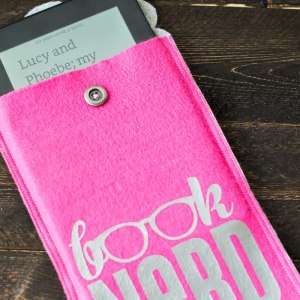 Book Nerd Kindle Cover