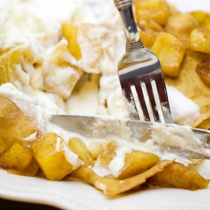 Caramelized Apple Dessert Crepes