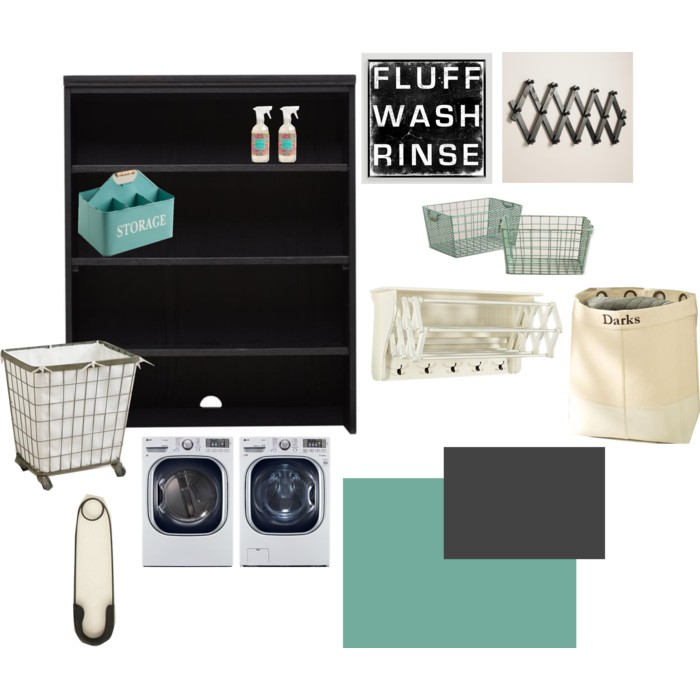 Ideas for a laundry room