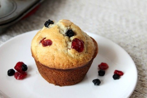 Blueberry Cranberry Muffins