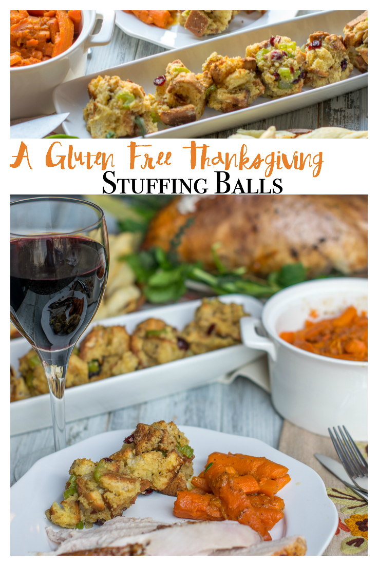 Celebrating a gluten free Thanksgiving? You'll flip for these gluten free stuffing balls! None of the guests even notice!