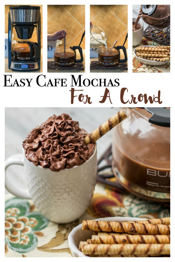 Cafe Mochas For A Crowd