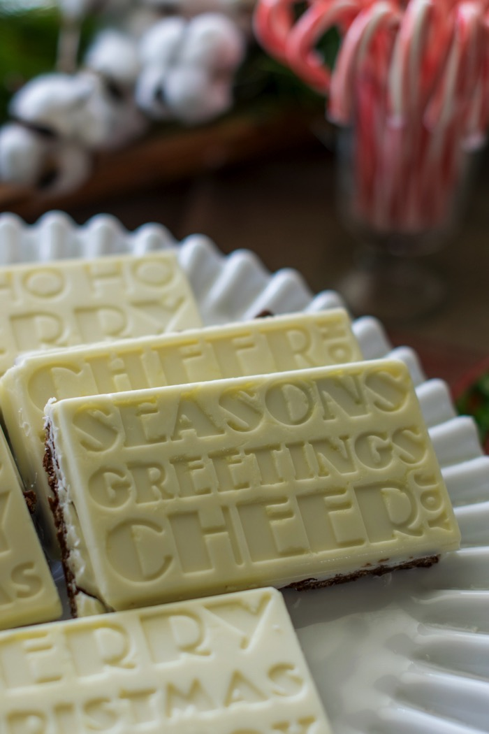 Holiday Truffle Bars