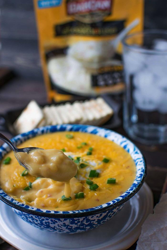 Idahoan Premium Steakhouse potato soups feature real potatoes!