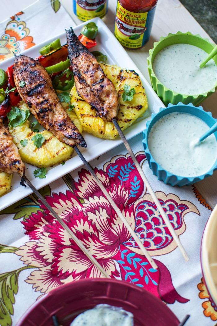 Pineapple jalapeno garlic aioli recipe