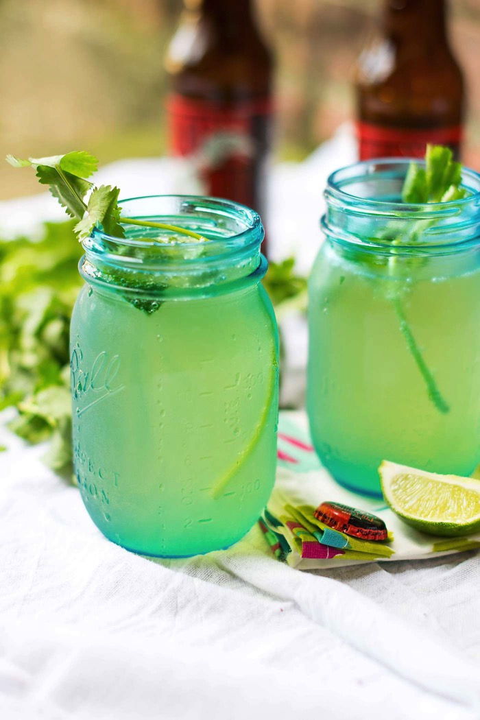 Cilantro with Lime Moscow Mule Recipe
