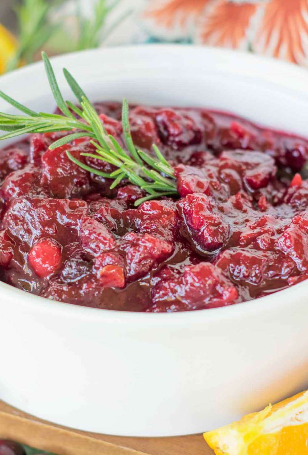 Save your sanity! Make your cranberry sauce ahead of time!