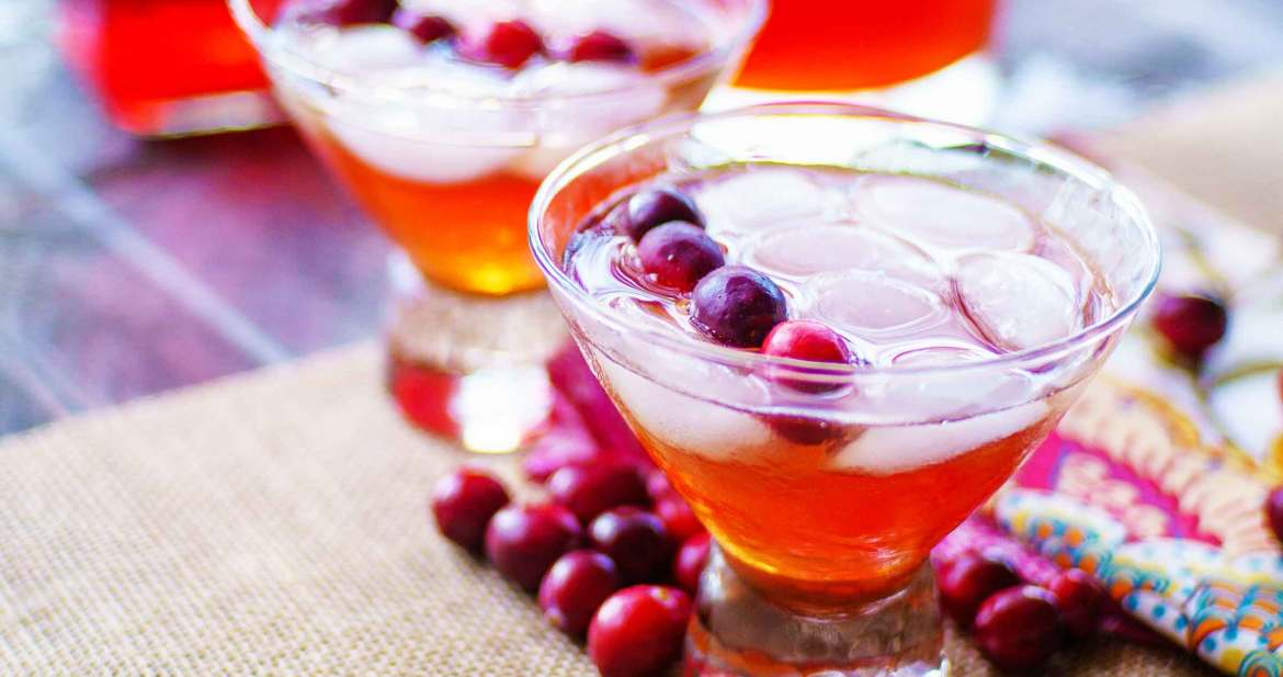 cranberry tea holiday punch recipe