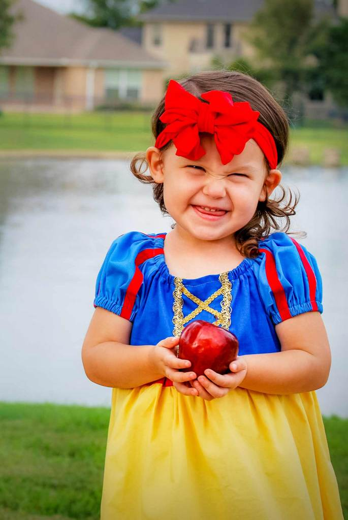 1139be2255c Easy To Sew Snow White Peasant Dress For Halloween or Dress Up ...
