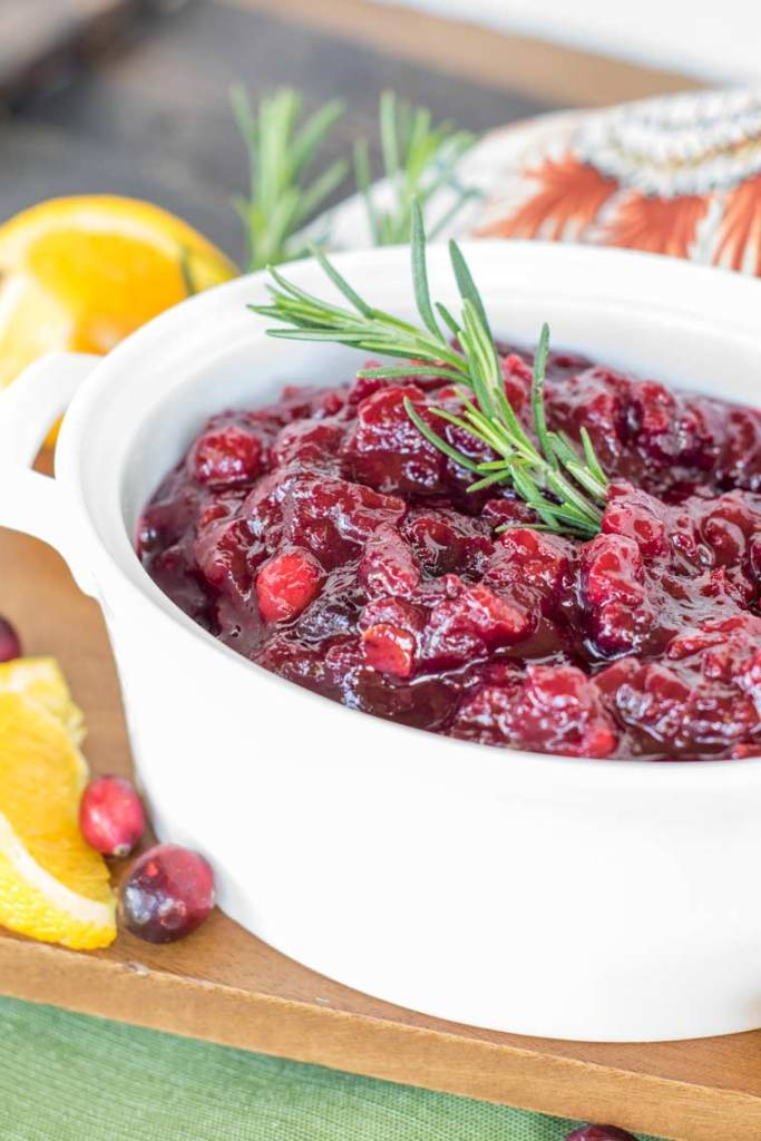 Have you made homemade cranberry sauce before? Featuring orange flavors, spices and whole berries this will be your new favorite recipe!
