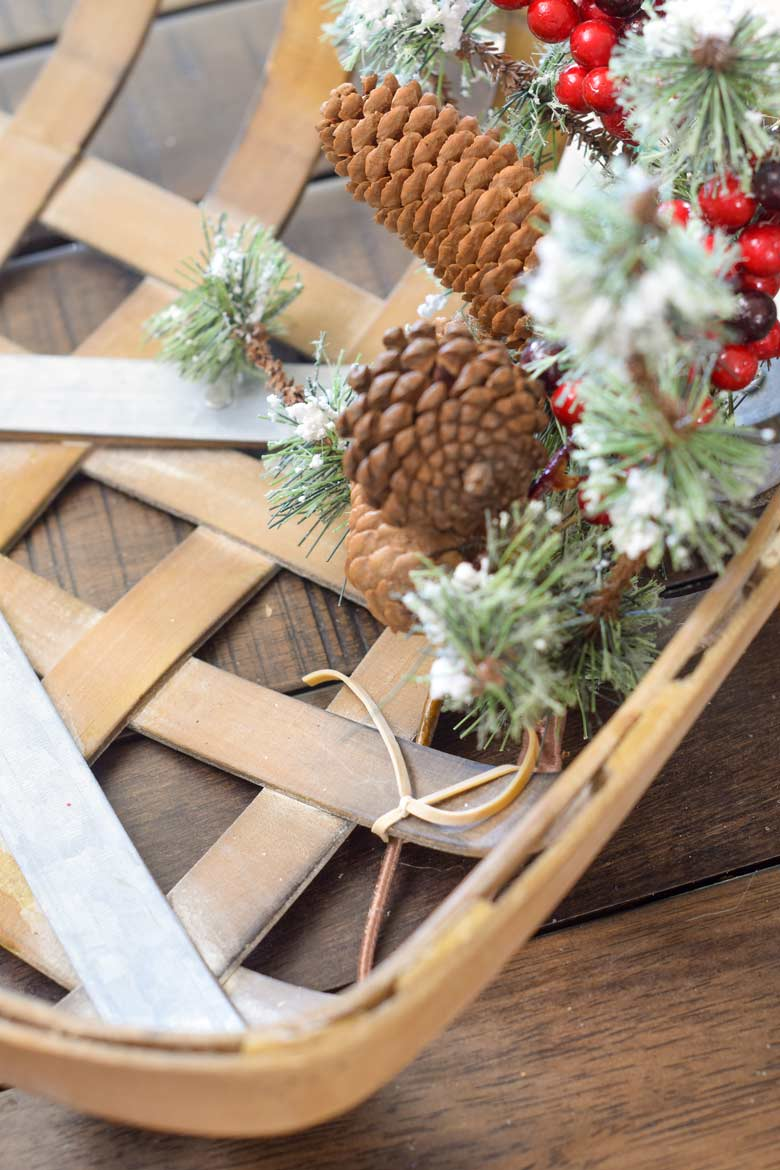 Can't find floral wire? Don't want to buy it? Attach floral picks to wreath forms with rubber bands you've cut to use like string.