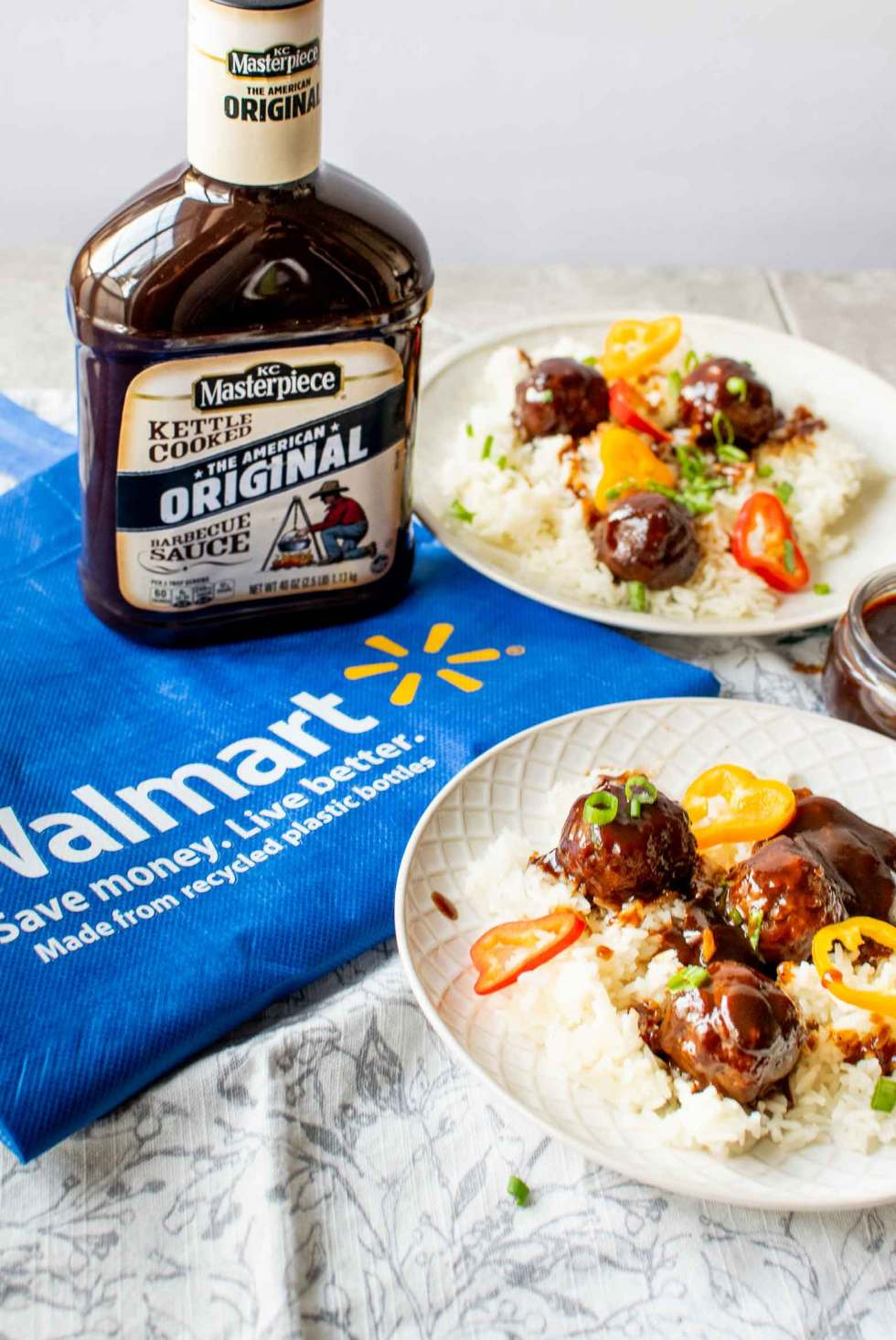 easy diner and bbq sauce from walmart