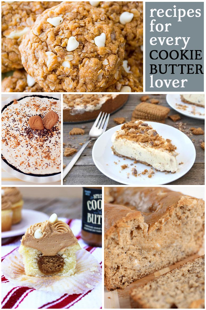 recipe collection for cookie butter lovers