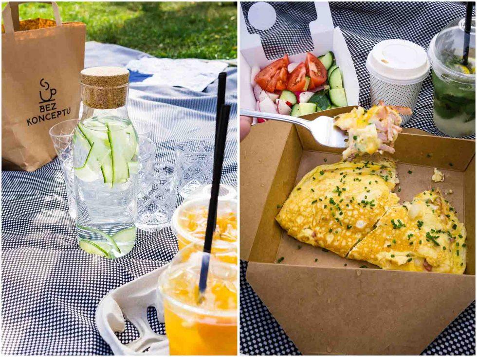 Kavárny Bez konceptu picnic brunch