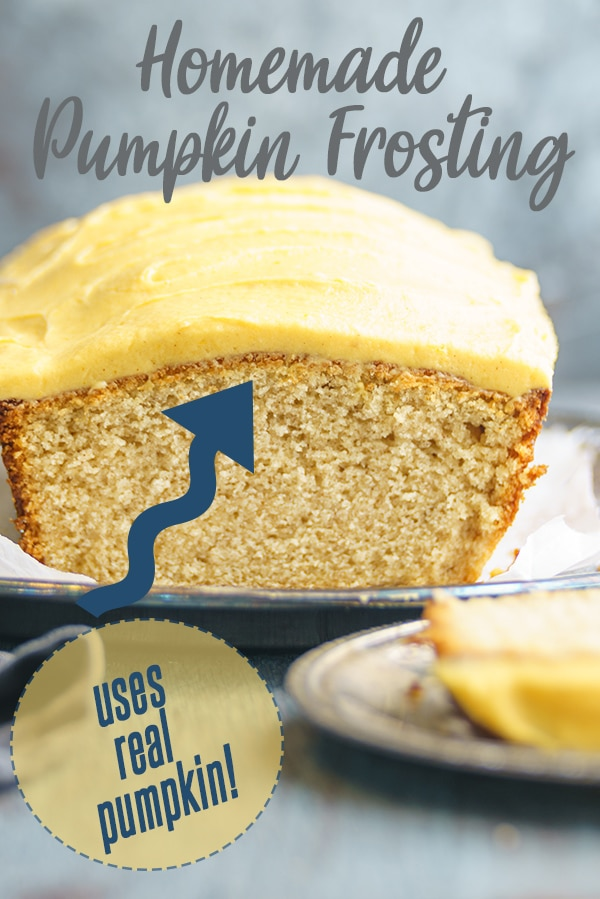 pumpkin spice quick bread with icing