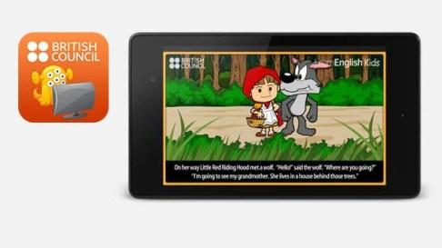 تطبيق British Council LearnEnglish KidS Playtime