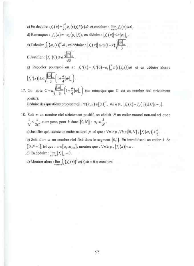 MathsESSEC 005