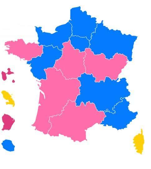 résultat régionales