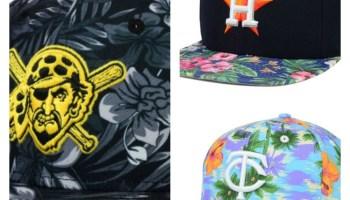 2262b76a202 MLB New Era Hawaiian Tropical Hats