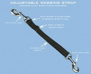 Le strap pour fixer votre nacelle aux tiges (existe en plus grande longueur)