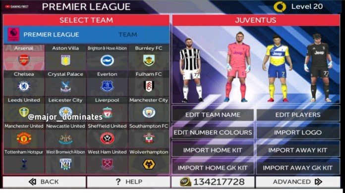 Updated Transfers