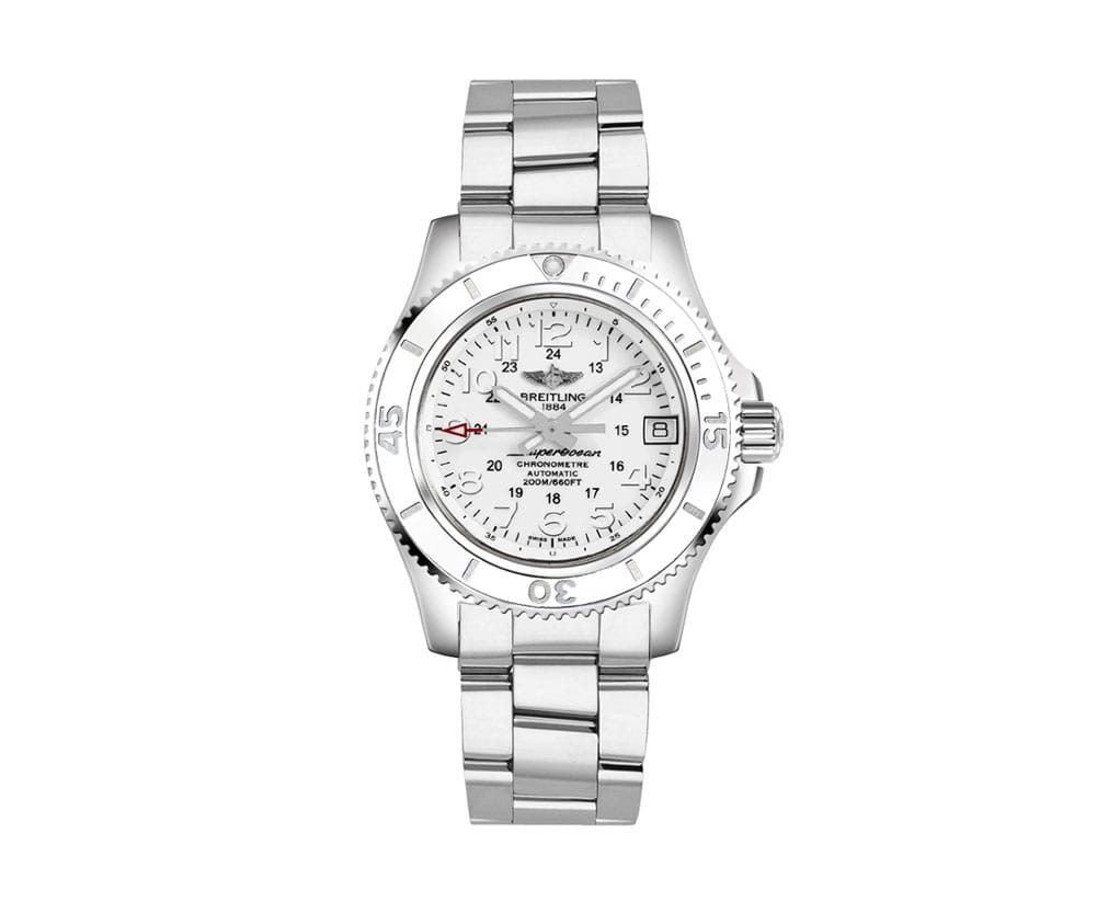 Breitling Superocean II 36 Automatic Ladies Watch A17312D2
