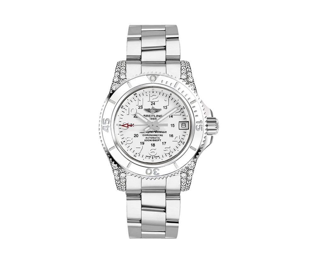 Breitling Superocean II 36 Womens Luxury Watch A1731267