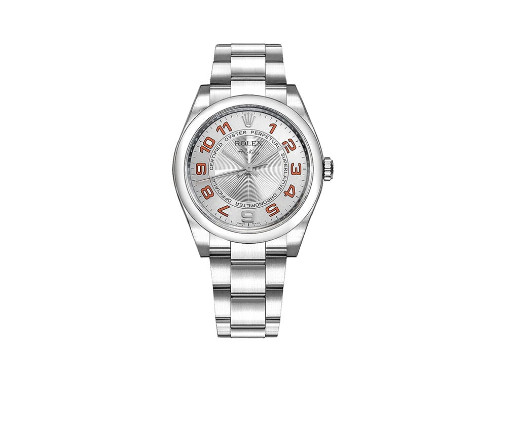 Rolex Air-King Oyster Perpetual Mens Luxury Watch 114200