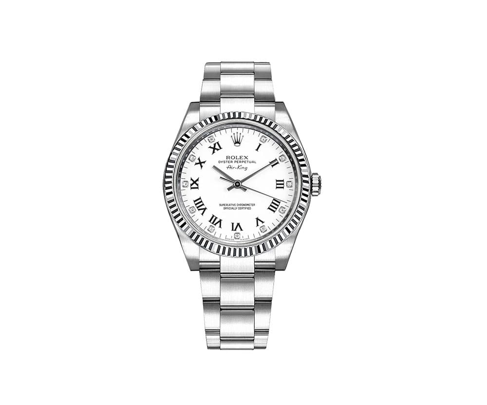 Rolex Oyster Perpetual Air-King Luxury Watch 114234-whtdro
