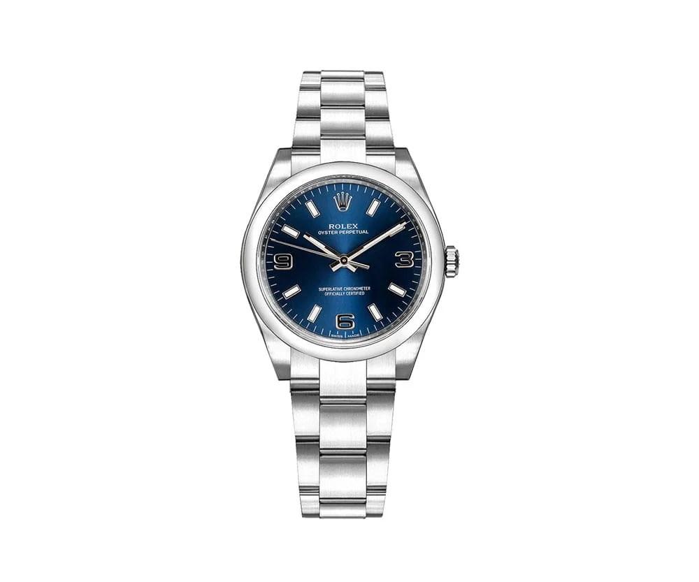 Rolex 177200 blusao Oyster Perpetual 31mm Blue Dial Ladies Watch caliber 2231 @majordor #majordor