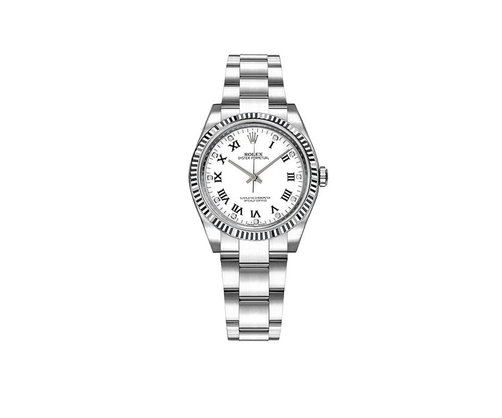 Rolex Oyster Perpetual 31mm Womens Luxury Watch 177234-WHTDRO