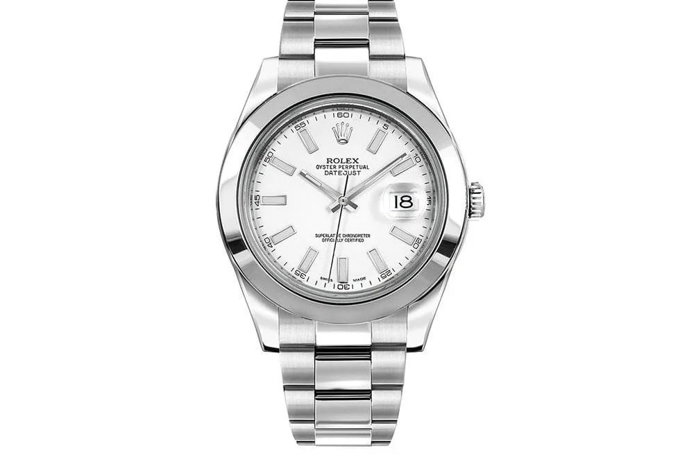 Rolex Datejust II 116300-whtsso 41mm Mens Luxury Watch
