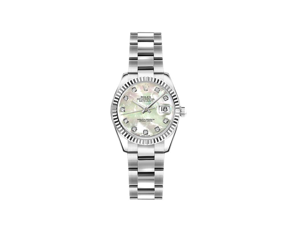 Rolex Lady Datejust 179174-MOPDO 26mm Luxury Womens Watch