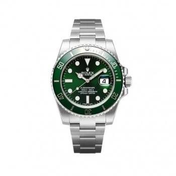 Rolex Submariner m116610lv-0002 Date Green Dial Watch