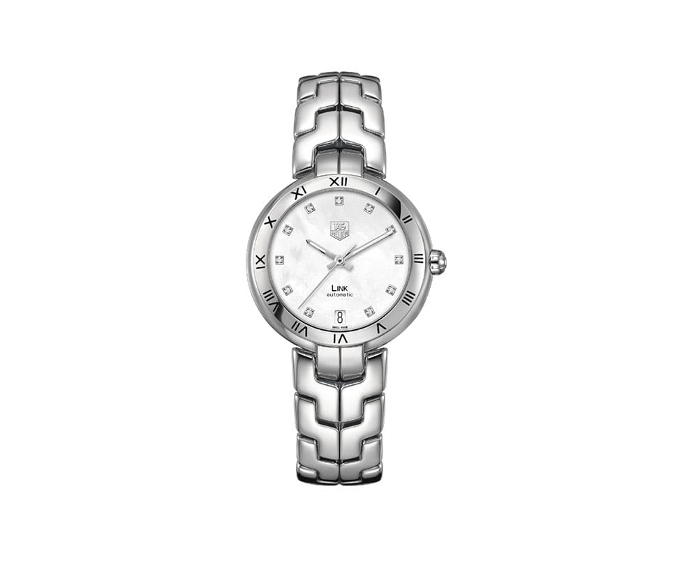 New Tag Heuer Link Automatic Ladies Luxury Watch WAT1312