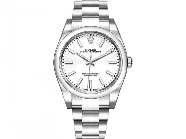 Rolex Oyster Perpetual m114300-0004 39 whtso White Dial