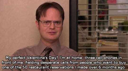 valentines day the office